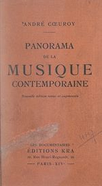 Download this eBook Panorama de la musique contemporaine