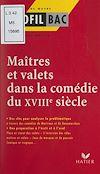 Télécharger le livre :  Maîtres et valets dans la comédie du XVIIIe siècle