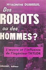 Download this eBook Des robots ou des hommes ?