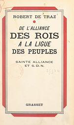 Download this eBook De l'alliance des rois à la ligue des peuples