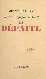 Download this eBook La défaite