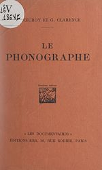 Download this eBook Le phonographe