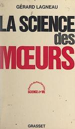 Download this eBook La science des mœurs