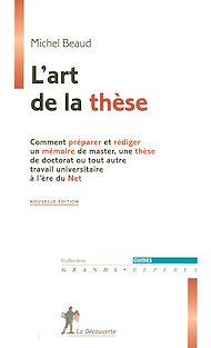 Téléchargez le livre :  L'art de la thèse