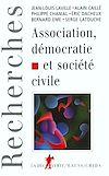 Télécharger le livre :  Association, démocratie et société civile