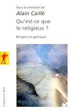 Download this eBook Qu'est-ce que le religieux ?