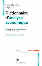 Téléchargez le livre :  Dictionnaire d'analyse économique