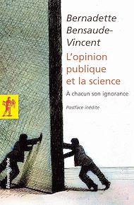 Téléchargez le livre :  L'opinion publique et la science