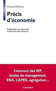 Téléchargez le livre :  Précis d'économie