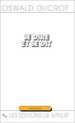 Download this eBook Le Dire et le Dit