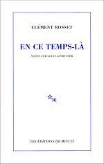 Download this eBook En ce temps-là. Notes sur Louis Althusser