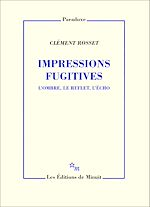 Download this eBook Impressions fugitives