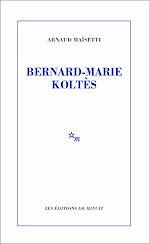 Download this eBook Bernard-Marie Koltès