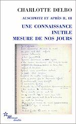 Download this eBook Une connaissance inutile - Mesure de nos jours