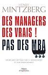Télécharger le livre :  Des managers des vrais ! Pas des MBA