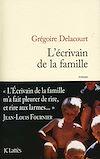 L'écrivain de la famille | Delacourt, Grégoire