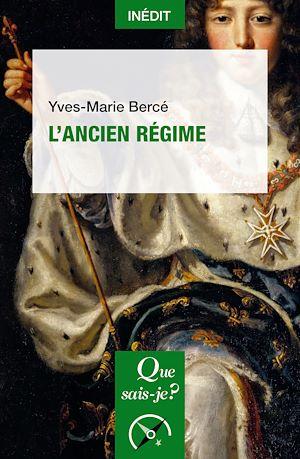 Téléchargez le livre :  L'Ancien Régime