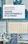 Télécharger le livre :  Histoire constitutionnelle de la France