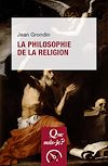 Télécharger le livre :  La Philosophie de la religion
