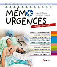 Téléchargez le livre :  Mémo Urgences (3e édition enrichie)