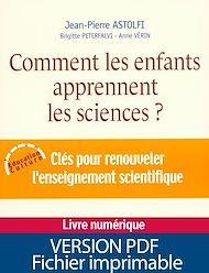 Téléchargez le livre :  Comment les enfants apprennent les sciences
