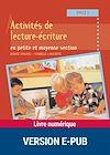 Télécharger le livre :  Activités de lecture-écriture en petite et moyenne section