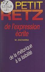 Download this eBook Le petit Retz de l'expression écrite