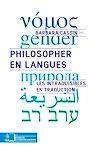 Télécharger le livre :  Philosopher en langues