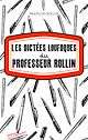 Télécharger le livre : Les Dictées loufoques du professeur Rollin
