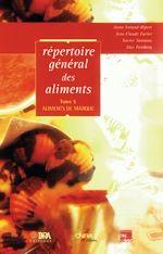 Téléchargez le livre :  Répertoire général des aliments T5