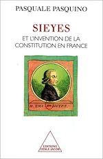 Téléchargez le livre :  Sieyès et l'invention de la Constitution en France