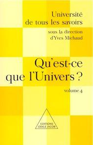 Téléchargez le livre :  Qu'est-ce que l'Univers ?