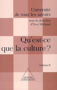 Téléchargez le livre :  Qu'est-ce que la culture ?