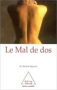 Téléchargez le livre :  Le Mal de dos
