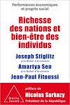 Télécharger le livre :  Richesse des nations et bien-être des individus.