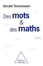 Téléchargez le livre :  Des mots et des maths