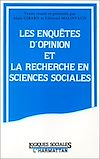 Télécharger le livre :  Les enquêtes d'opinion et la recherche en sciences sociales