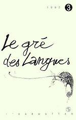 Download this eBook Le gré des langues n°3