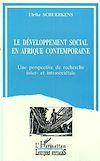 Le développement sociale Afrique contemporaine