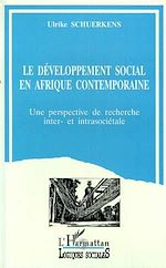 Download this eBook Le développement sociale Afrique contemporaine