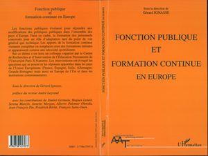 Téléchargez le livre :  Fonction publique et formation continue en Europe