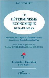 Téléchargez le livre :  Le déterminisme économique de Karl Marx