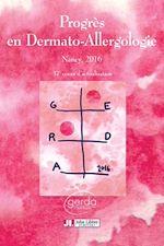 Download this eBook Progrès en Dermato-Allergologie - GERDA 2016