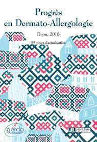 Téléchargez le livre :  Progrès en Dermato-Allergologie - GERDA 2018