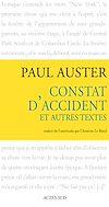 Télécharger le livre :  Constat d'accident et autres textes