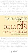 Télécharger le livre :  L'art de la faim suivi de Le Carnet rouge