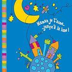 Téléchargez le livre :  Maman je t'aime jusqu'à la lune