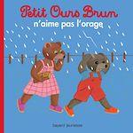Download this eBook Petit Ours Brun n'aime pas l'orage