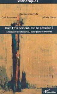 Téléchargez le livre :  DIRE L'ÉVÉNEMENT, EST-CE POSSIBLE ?