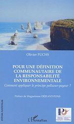 Download this eBook Pour une définition communautaire de la responsabilité environnementale